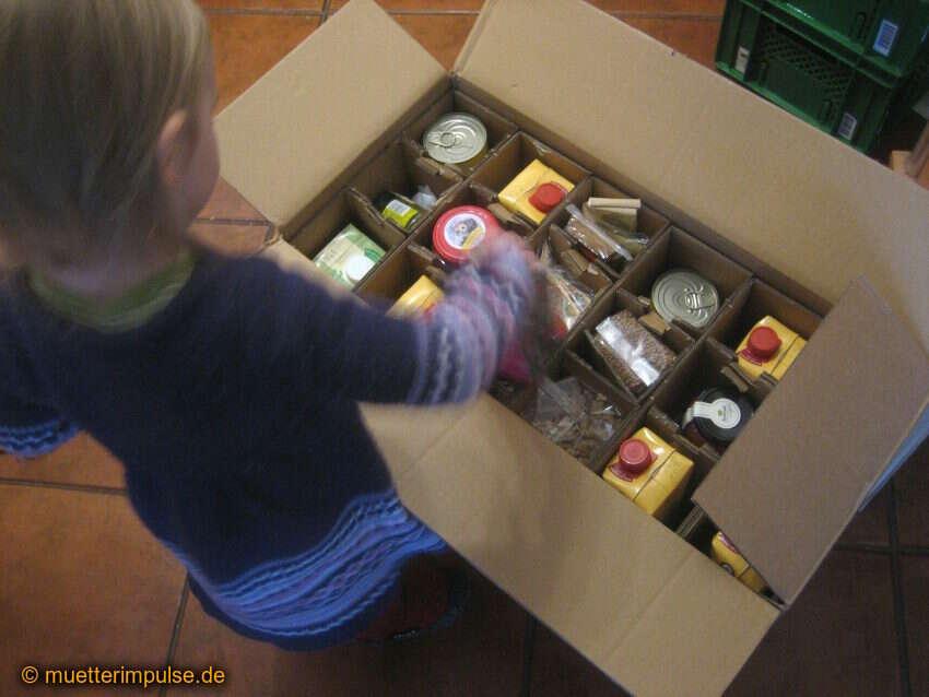 Bio-Lebensmittel online einkaufen