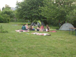 Öko-Familienurlaub Picknick