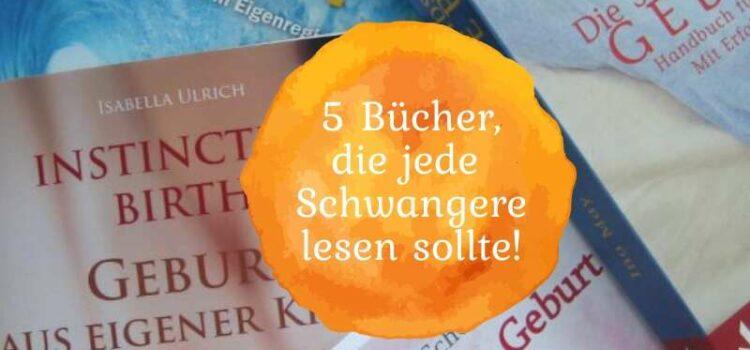 5 Bücher, die jede Schwangere lesen sollte