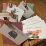 Postkarten, Adventskalender