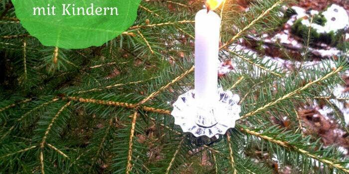 6 Ideen für die Waldweihnacht mit Kindern