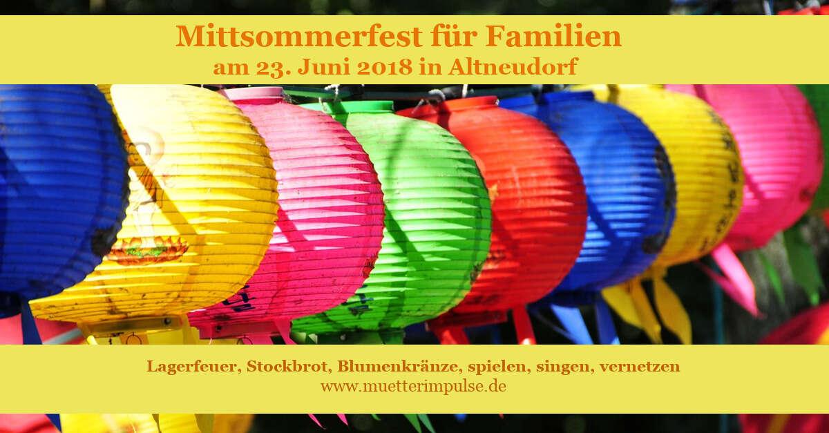 Mitsommerfest für Familien, 2018