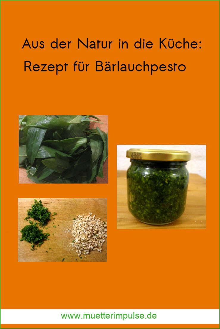 Bärlauchpesto, Bärlauchbutter, Rezept, Bärlauch