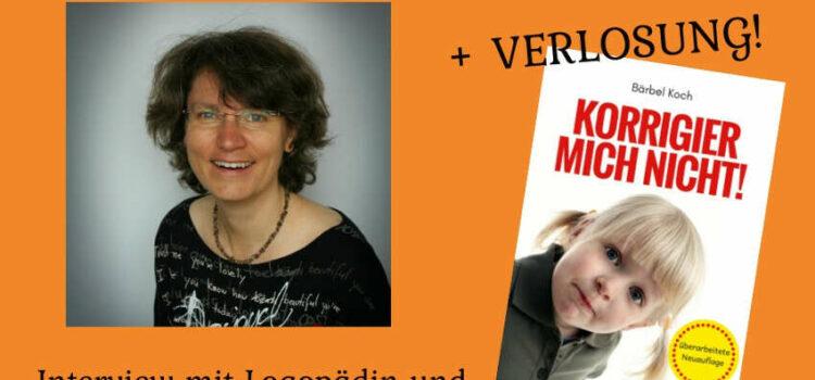 Wie Kinder fröhlich sprechen lernen – Interview mit Logopädin und Buchautorin Bärbel Koch + VERLOSUNG!