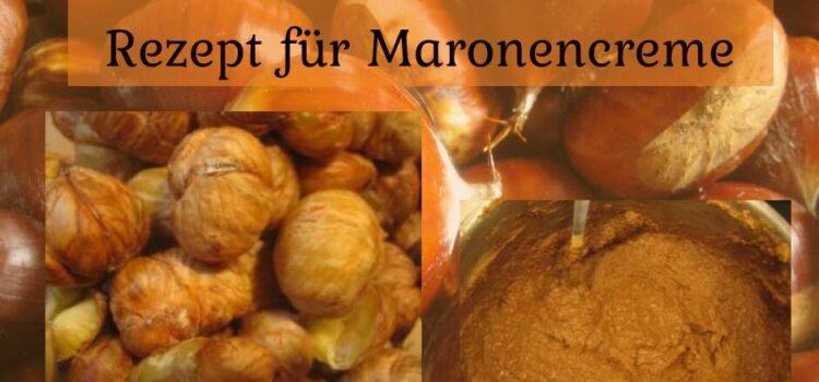 Aus der Natur in die Küche: Rezept für Maronencreme (Esskastanienmarmelade)