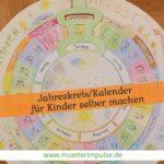 Jahreskreis für Kinder selber machen