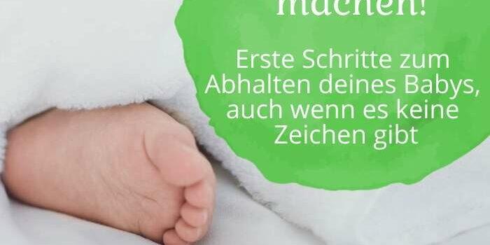 Windelfrei soll Spaß machen!  Erste Schritte zum Abhalten deines Babys, auch wenn es keine Zeichen gibt