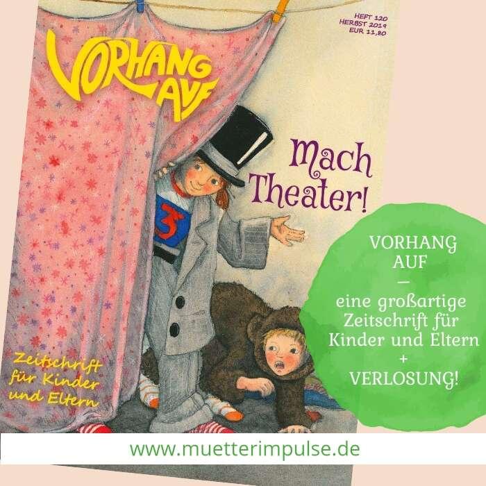 Vorhang Auf, Zeitschrift für Kinder und Eltern, Verlosung