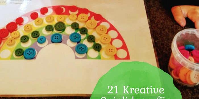 21 Kreative Spielideen für Busy Bags