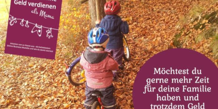 Online Geld verdienen als Mama – mein neues Buch!