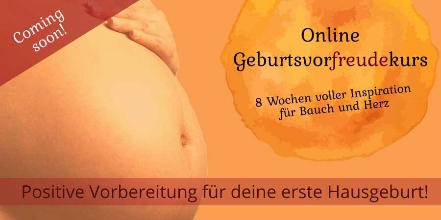 Online Geburtsvorfreudekurs