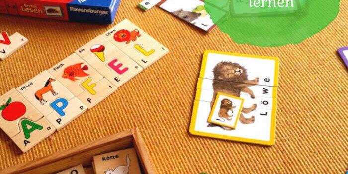 Wie Kinder spielerisch lesen und schreiben lernen