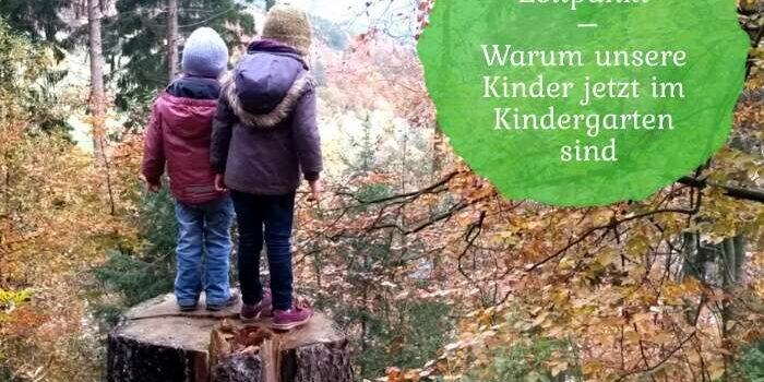 richtiger Zeitpunkt Kindergarten