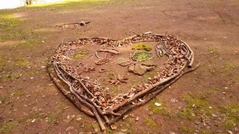 Landart Herz