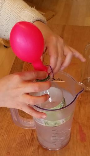 Experimente mit Wasser