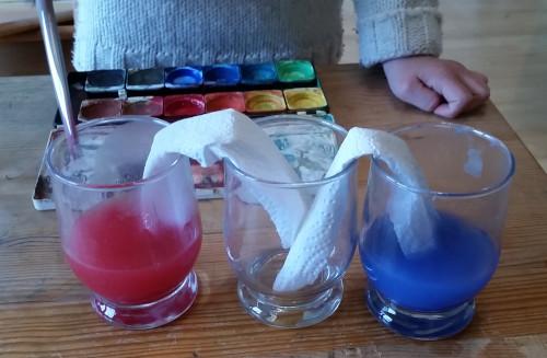 Experimente mit Wasser für Kinder